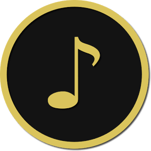 Premium audio player icon