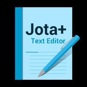 دانلود Jota+ (Text Editor) Pro 2016.14 – نرم افزار ویرایشگر متن اندروید