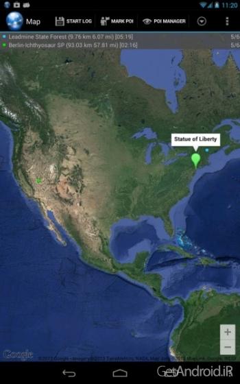 دانلود Ultra GPS Logger 3.142l نرم افزار ردیاب GPS اندروید