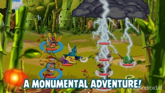 دانلود Angry Birds Epic 1.3.7 - بازی حماسه پرندگان خشمگین برای اندروید + دیتا