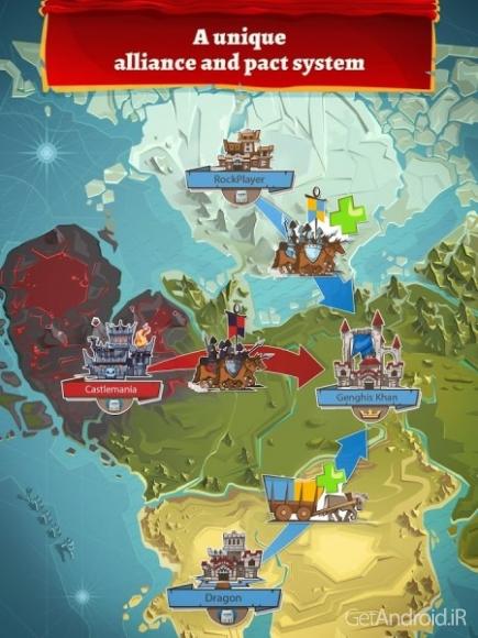 دانلود Empire: Four Kingdoms 2.1.8 – بازی استراتژی آنلاین اندروید