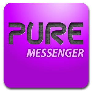 Pure messenger widget icon