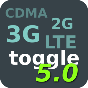 Toggle Network Type 5.0 (root) icon