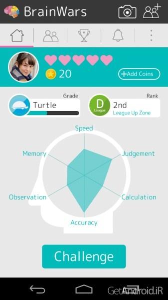 دانلود Brain Wars v1.0.70 بهترین بازی فکری اندروید