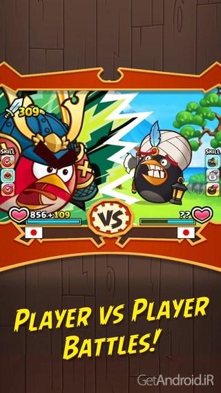 دانلود انگری بیردز فایت Angry Birds Fight 1.4.0 بازی جنگ پرندگان خشمگین اندروید