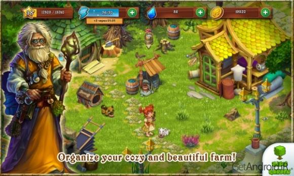 دانلود Farmdale 2.2.0 – بازی مزرعه داری اندروید + مود