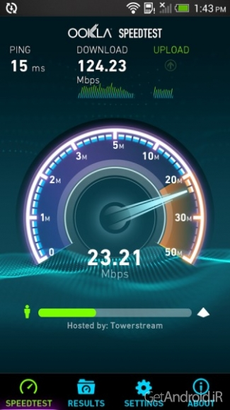 دانلود Speedtest.net Premium 3.2.13 نرم افزار تست سرعت اینترنت اندروید