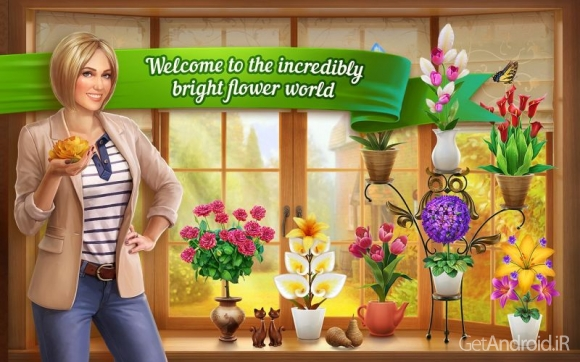 دانلود Flower House v1.3.15 - بازی خانه گلها برای اندروید + دیتا ! 1