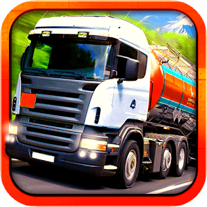 Truck Driver 3D Transporter icon