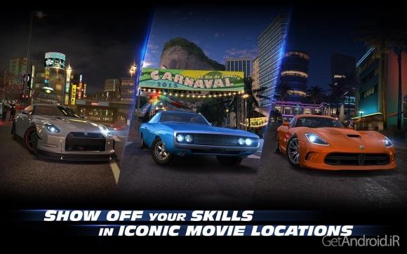 1428178641 fast and furious legacy 3 دانلود Fast & Furious: Legacy v2.1.1   بازی اتومبیلرانی میراث سریع و خشمگین اندروید + دانلود دیتا