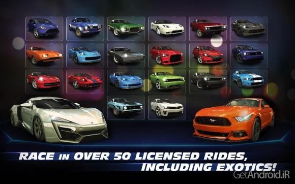 1428178719 fast and furious legacy 5 دانلود Fast & Furious: Legacy v2.1.1   بازی اتومبیلرانی میراث سریع و خشمگین اندروید + دانلود دیتا