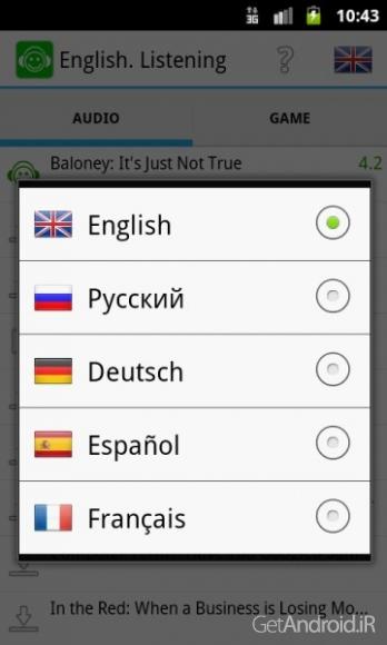 دانلود Learn English Listening Pro 2.12 برنامه آموزش زبان انگلیسی اندروید