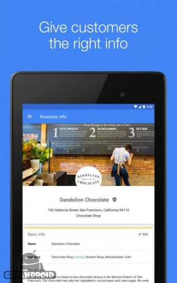 دانلود Google My Business 2.12.0.175086444 برنامه گوگل مای بیزینس اندروید