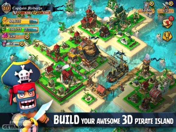 دانلود Plunder Pirates 3.1.0 - بازی دزدان دریایی غارتگر برای اندروید + دیتا