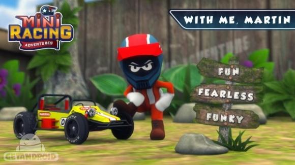 1429802852 mini racing adventures 2 دانلود Mini Racing Adventures 1.2   بازی رالی فانتزی اندروید + نسخه مود