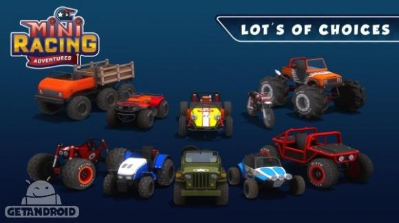 1429802897 mini racing adventures 3 دانلود Mini Racing Adventures 1.2   بازی رالی فانتزی اندروید + نسخه مود