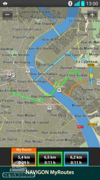 دانلود NAVIGON Europe 5.9.2 نقشه آفلاین کشورهای اروپایی اندروید