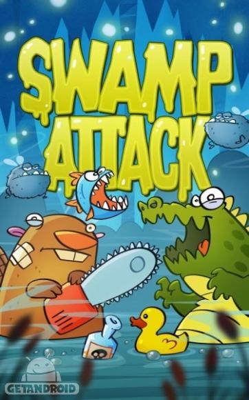 دانلود Swamp Attack 2.2.0 - بازی حمله برکه برای اندروید