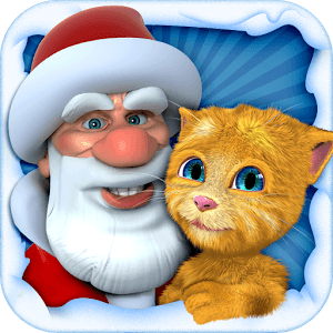 Talking Santa meets Ginger + icon
