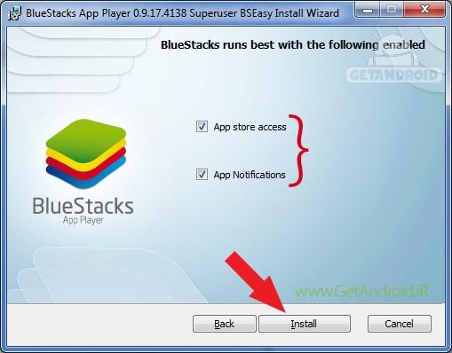 آموزش نصب بلو استکس bluestacks برای کامپیوتر و لپ تاپ