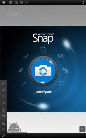 دانلود Screenshot Snap 1.3.0 برنامه گرفتن عکس از صفحه گوشی اندروید