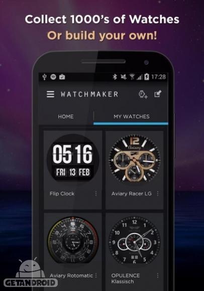 دانلود WatchMaker Premium Watch Face 4.6.6  برنامه ساخت ساعت هوشمند اندروید