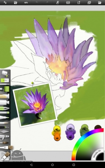 دانلود آرت ریج ArtRage 1.3.7.0 نرم افزار نقاشی طبیعی اندروید ! 1