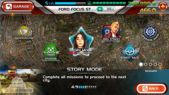 دانلود Nitro Nation Stories 1.05.03 – بازی ماشین سواری واقعی اندروید + دیتا