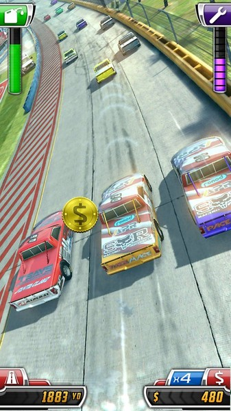 1433762465 daytona rush 7 دانلود Daytona Rush 1.5.1   بازی اتومبیلرانی نسکار اندروید + مود