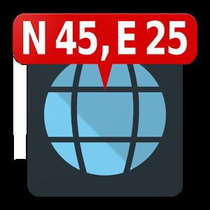 دانلود Map Coordinates Pro 4.7.5 برنامه نمایش مختصات روی نقشه اندروید