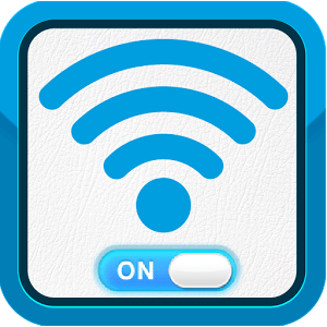 Wi-Fi Auto-connect (on/off) icon
