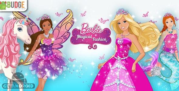 Barbie Magical Fashion v1.2 - بازی مدل رویایی باربی برای اندروید + ...
