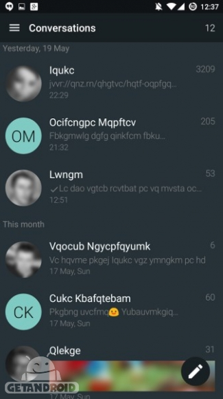 دانلود YAATA SMS Premium 1.27.12783 برنامه مدیریت پیامک های اندروید