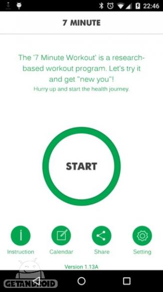 دانلود 7 Minute Workout Pro 1.334.81 برنامه تمرین عضلات شکم اندروید
