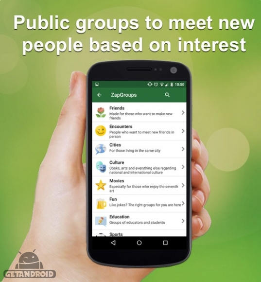 دانلود زپ زپ مسنجر ZapZap Messenger 70.11 - برنامه چت و گفتگوی رایگان اندروید