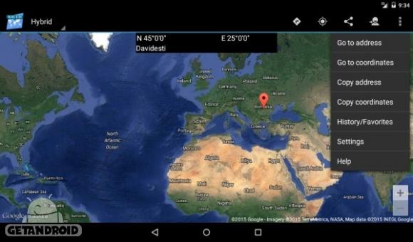دانلود Map Coordinates Pro 4.6.0 برنامه نمایش مختصات روی نقشه اندروید