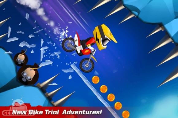 دانلود Bike Up! 1.0.1.68 - بازی موتورسواری فانتزی برای اندروید + مود
