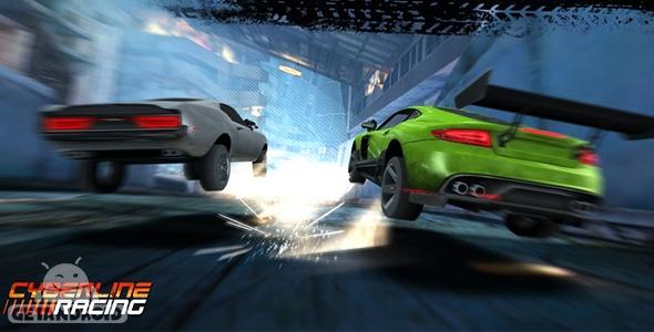 دانلود Cyberline Racing 0.9.5487 - بازی اتومبیلرانی سایبرلاین ریسینگ اندروید + دیتا + مود