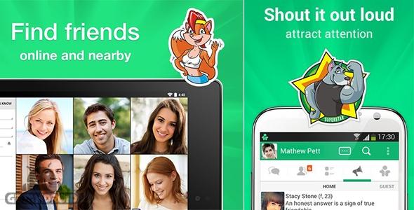 دانلود فریم Frim - chat for friends 2.6.4 - برنامه چت و دوستیابی اندروید