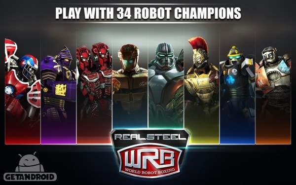 دانلود Real Steel World Robot Boxing 22.22.554 بازی بوکس ربات ها اندروید