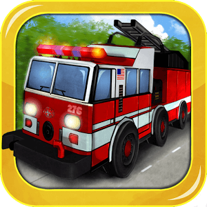 Fire Truck 3D icon
