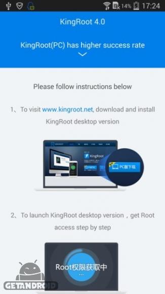 دانلود کینگ روت KingRoot 5.0.2 نرم افزار روت كردن گوشی های اندرويد + نسخه کامپیوتر