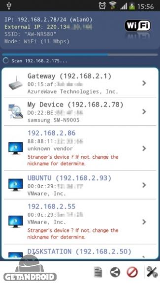 دانلود Network Scanner Full 1.9.8 برنامه اسکنر شبکه اندروید