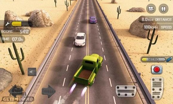 دانلود Race the Traffic Nitro v1.0.7 - بازی رانندگی در ترافیک برای اندروید