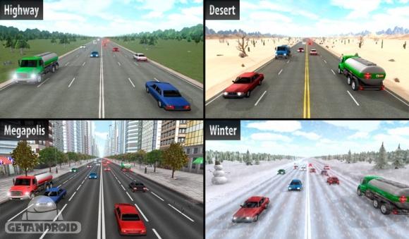 دانلود Highway Racer 1.23 - بازی اتومبیلرانی در اتوبان برای اندروید