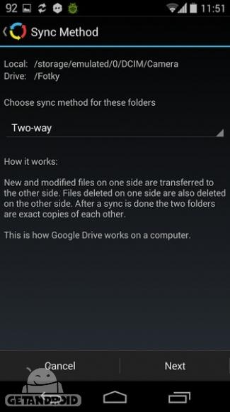 دانلود Autosync  for Google Drive 2.11.2 - برنامه همگام سازی خودکار با گوگل درایو برای اندروید