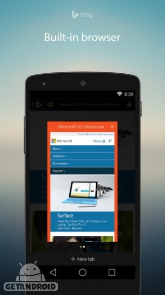 دانلود Bing Search 6.5.25183155 برنامه موتور جستجوی بینگ اندروید