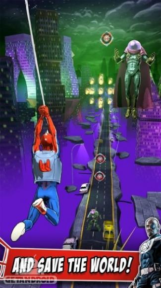 دانلود اسپایدرمن Spider-Man Unlimited 3.6.0d بازی مرد عنکبوتی نامحدود اندروید