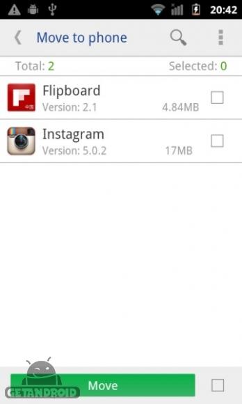 دانلود move app to sdcard pro 3.1.107 انتقال برنامه به کارت حافظه SD اندروید