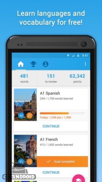 دانلود Memrise Learn Languages Premium 2.9_3902 نرم افزار آموزش زبان برای اندروید